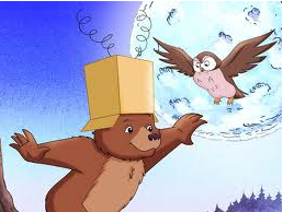 Câu chuyện : Bài học đầu tiên của Gấu con