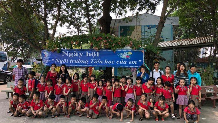 """Ngày hội """" Trường tiểu học của em """" tại trường tiểu học Trương Văn Thành."""