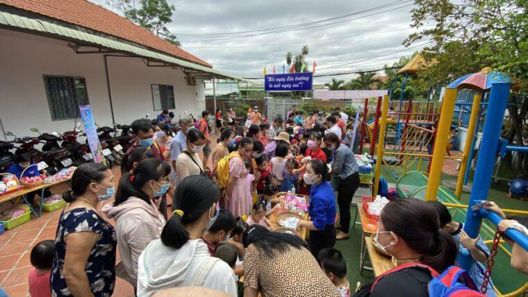 Đoàn thanh niên – Hội LHTN Việt Nam Trường mầm non Ban Mai tổ chức thành công ngày hội mở 2020.